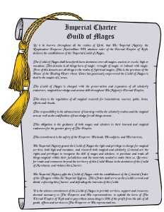 Imperial Charter- Guild of Mages1