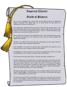 Imperial Charter- Guild of Slavers1